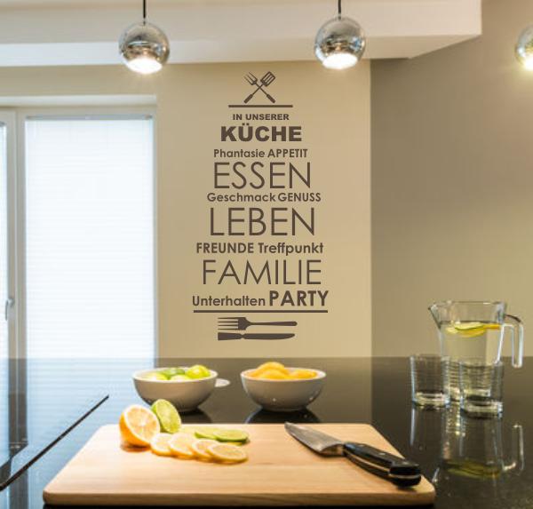 Kinderzimmer kinderzimmer braun grün : Startseite » Wandsprüche und Zitate » Wandtattoo In unserer Küche