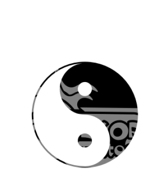 wandtattoos wandspr che wanddeko wandtattoo yin yang. Black Bedroom Furniture Sets. Home Design Ideas