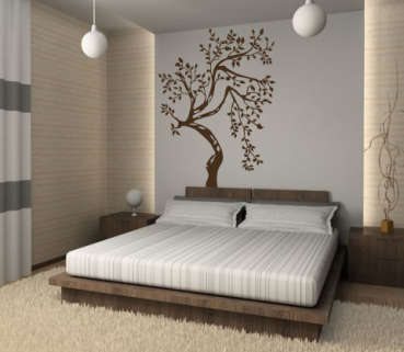 wandtattoos wandspr che wanddeko wandtattoo baum 2. Black Bedroom Furniture Sets. Home Design Ideas