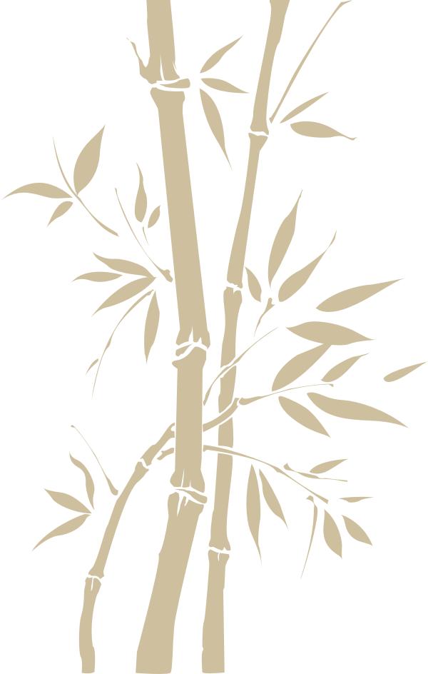Wandtattoos wandspr che wanddeko wandtattoo bambus 2 - Wanddeko bambus ...