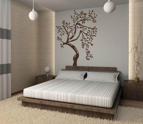 wandtattoos wandspr che wanddeko wandtattoo baum 1. Black Bedroom Furniture Sets. Home Design Ideas