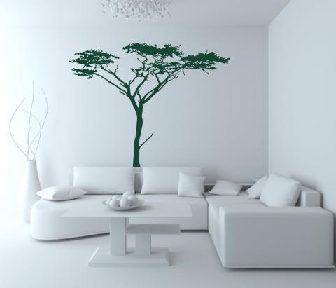wandtattoos wandspr che wanddeko wandtattoo baum 4. Black Bedroom Furniture Sets. Home Design Ideas