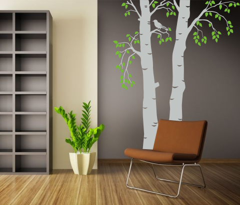 wandtattoos wandspr che wanddeko 2. Black Bedroom Furniture Sets. Home Design Ideas