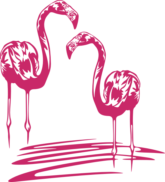 Wandtattoos wandspr che wanddeko - Flamingo wandtattoo ...