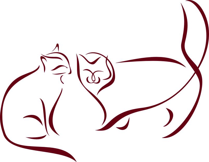 Wandtattoos wandspr che wanddeko - Katzen wandtattoo ...