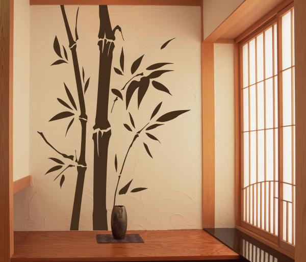 Wandtattoos wandspr che wanddeko wandtattoo bambus 3 - Wanddeko bambus ...