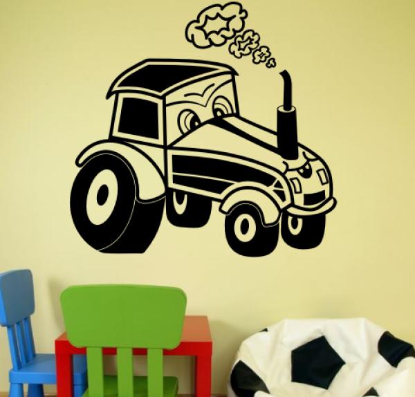 Wandtattoos wandspr che wanddeko - Traktor wandtattoo ...